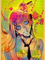 Print - Crazy Freaky Scary by sakuragarden