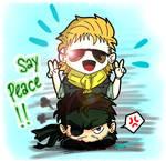 Say peace! (digital)