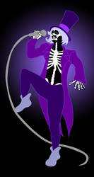 Skeleton Man (vector) by demolition-lover414