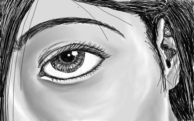 Tired Eyeball by demolition-lover414