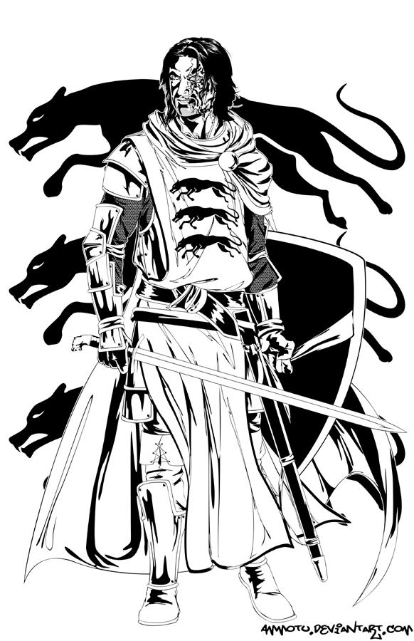 Sandor Clegane by Ammotu
