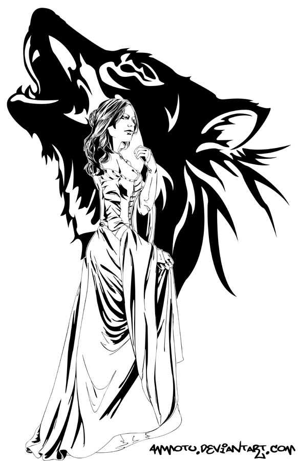 Sansa stark by ammotu on deviantart for Fire and ice tattoo shop