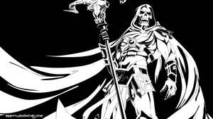 Skeletor lineArt