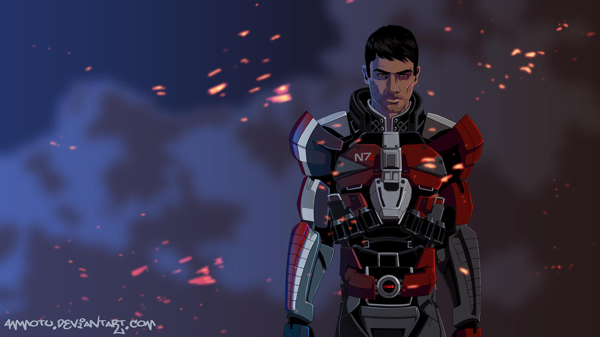 Shepard by Ammotu