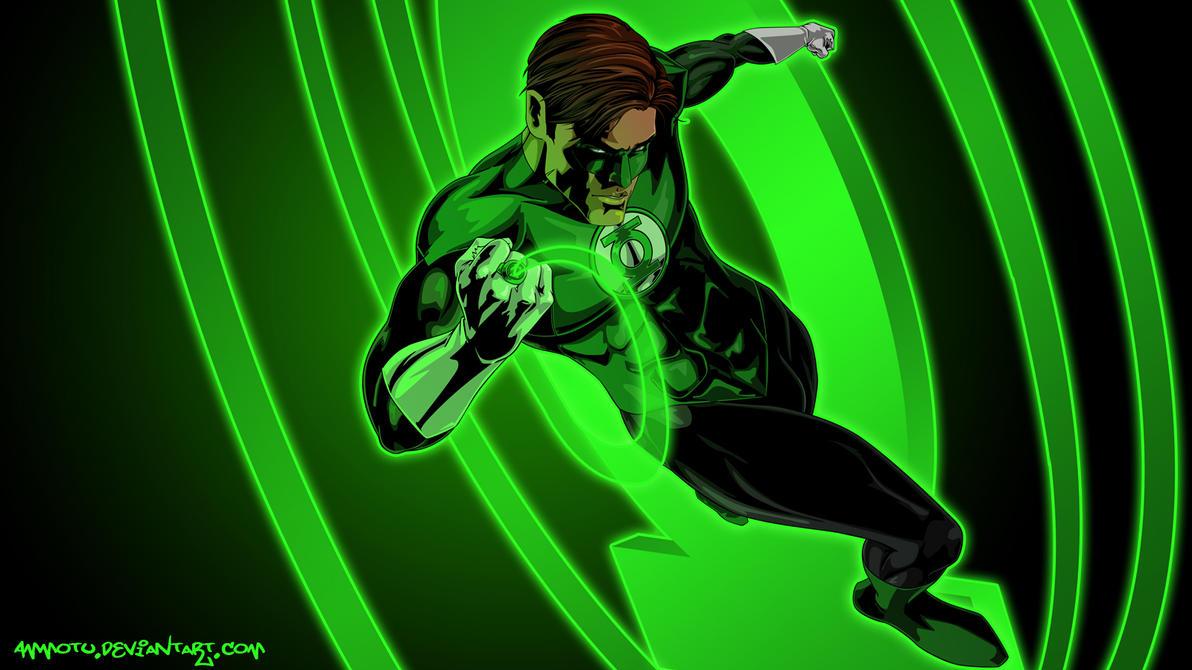 Green Lantern by Ammotu