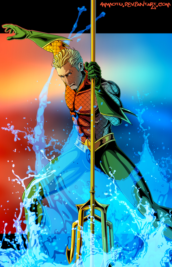 A- is for Aquaman