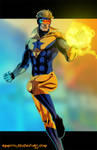 B- is for Booster Gold