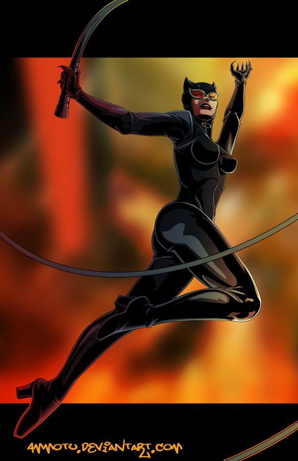 C - is for Catwoman