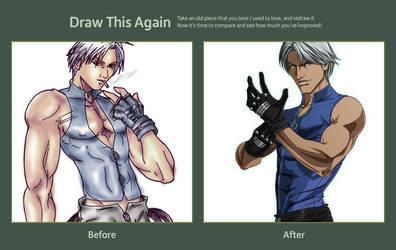 Draw This Again Lee by Ammotu