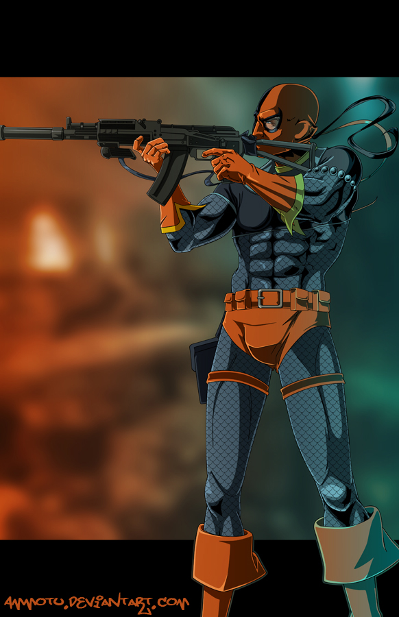 D - is for Deathstroke