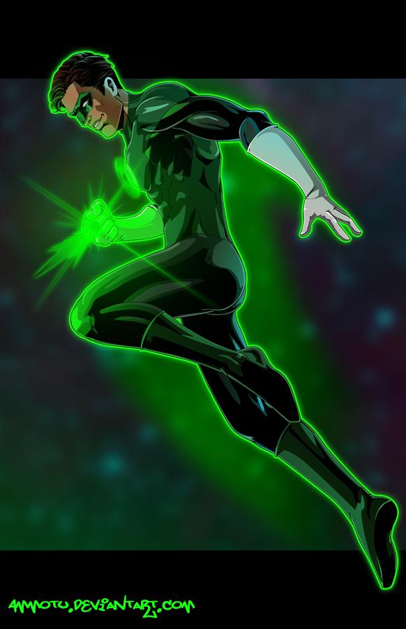 G - is for Green Lantern by Ammotu