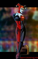 H - is for Harley Quinn by Ammotu