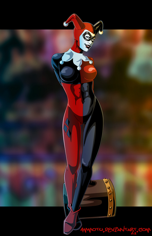 H - is for Harley Quinn