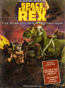 Space Explorer Rex by Ammotu