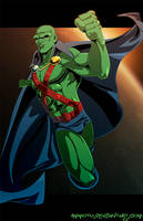 M - is for Martian Manhunter by Ammotu