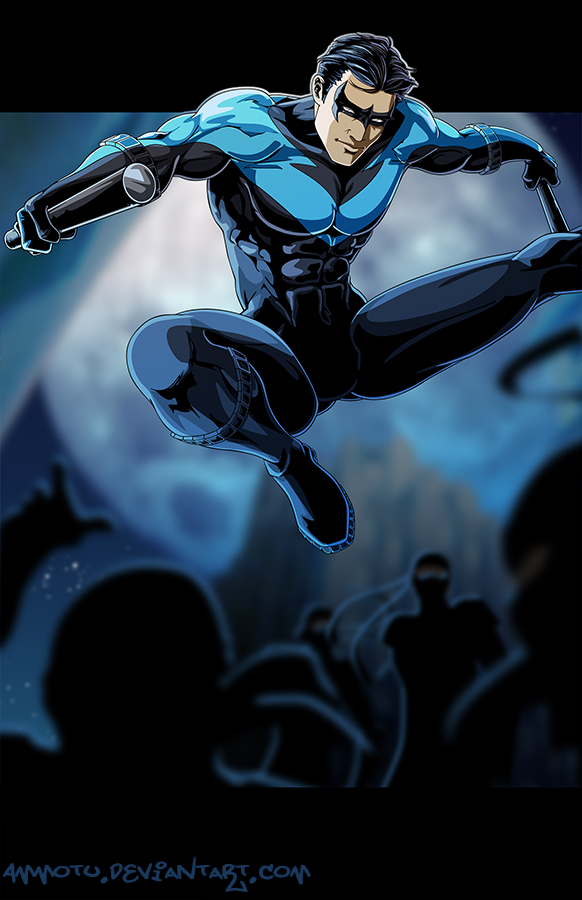 N - is for Nightwing