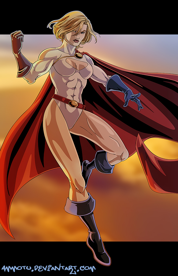 P - is for Powergirl