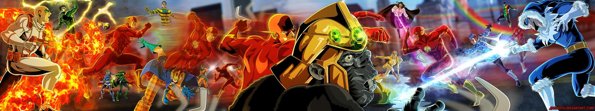 The Flash by Ammotu