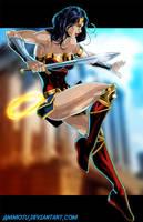 W - is for Wonder Woman by Ammotu
