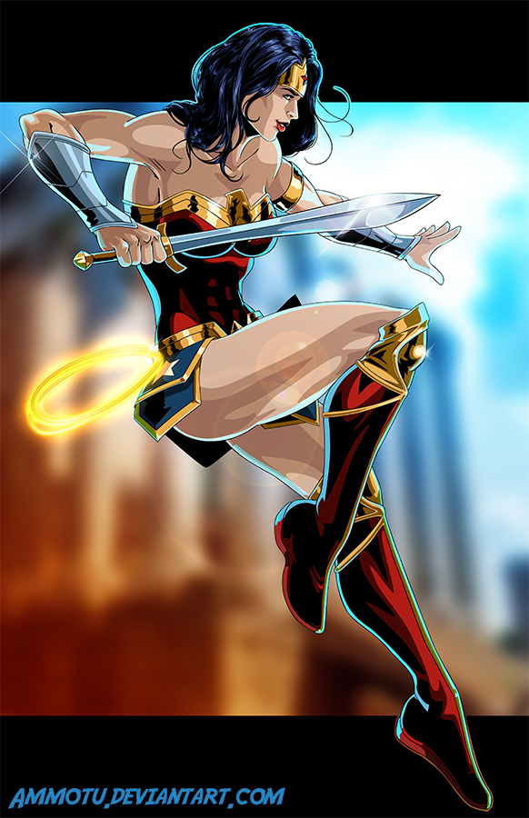 W - is for Wonder Woman