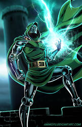 D - is for Doctor Doom by Ammotu