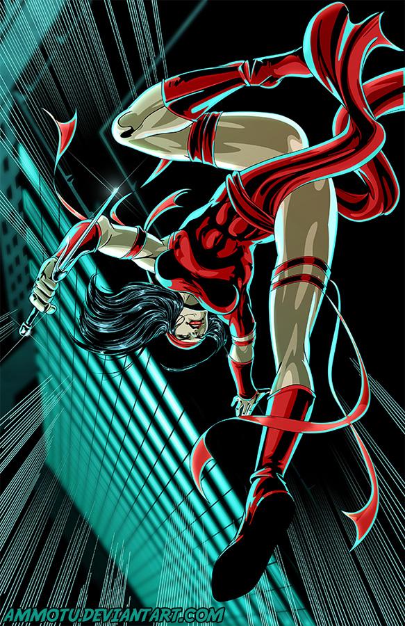 E - is for Elektra