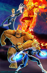 F - is for the Fantastic Four by Ammotu