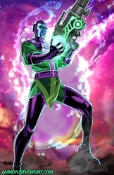 K - is for Kang the Conqueror by Ammotu