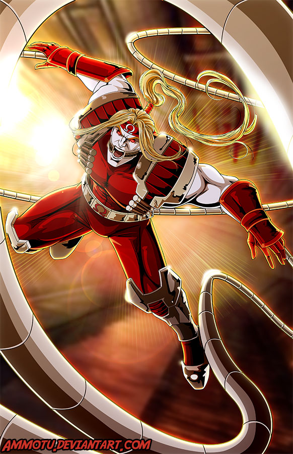 O - is for Omega Red