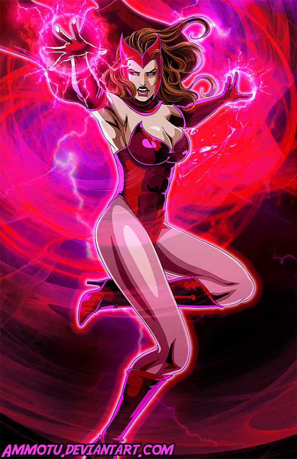 S - is for Scarlet Witch