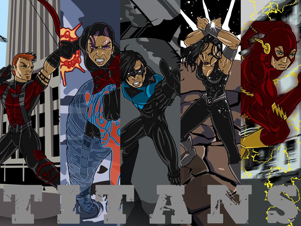 Titans by Ammotu