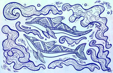 Babka Dolphin Inks
