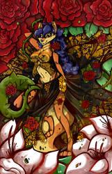 Commission - Carmelita Belly Dancer