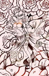Commission - Carmelita Belly Dancer Inks