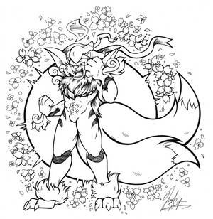Commission - Shady_Inktail Inks