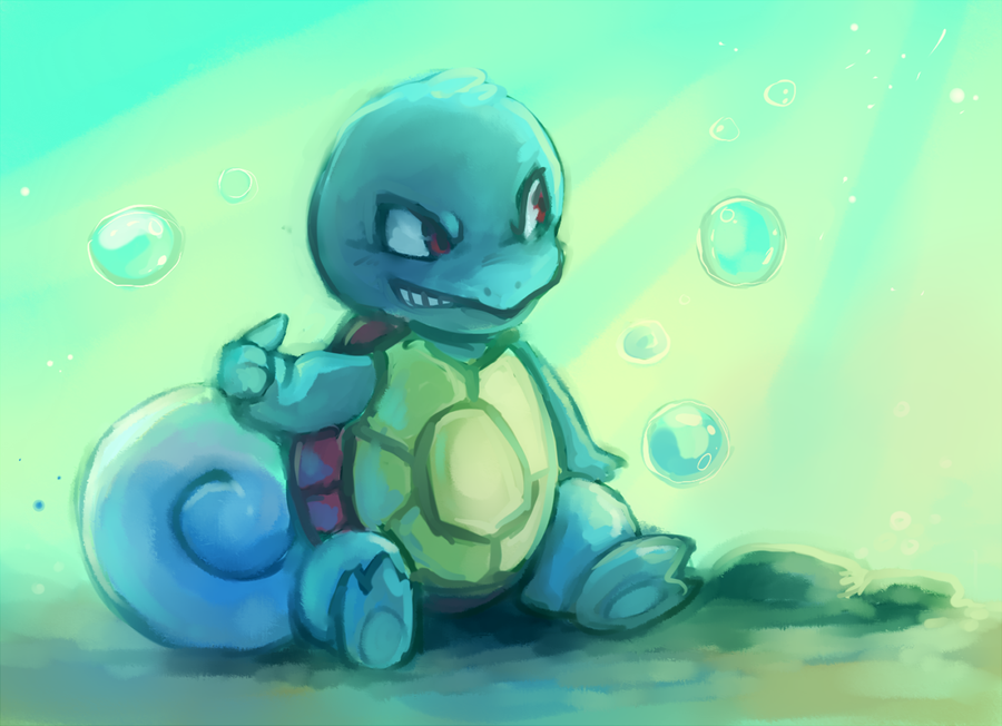 squirtleee by Tymkiev