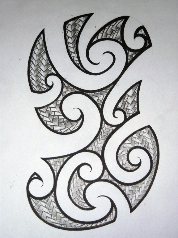 Maori Half Sleeve Design - sleeve tattoo