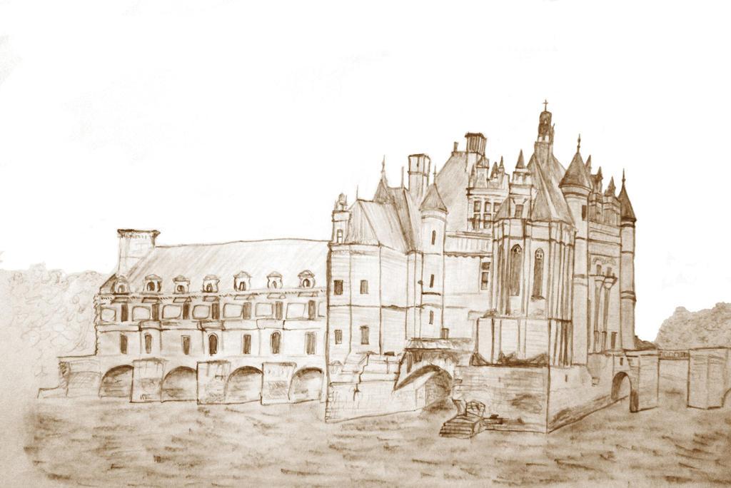 Chateau de Chenonceau by helloracer
