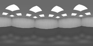 Room Ceiling Lights HDRI
