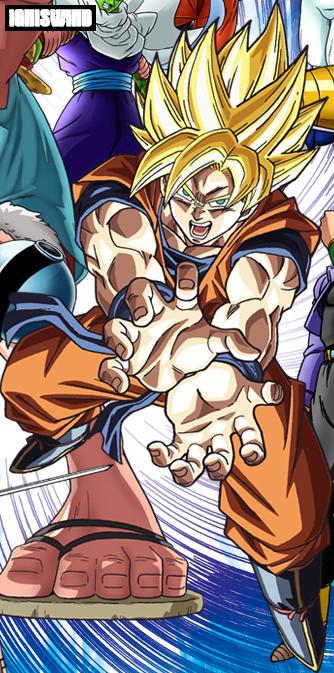 Goku Super Saiyan Kamehameha 2 - Render by IgnisWind on ...