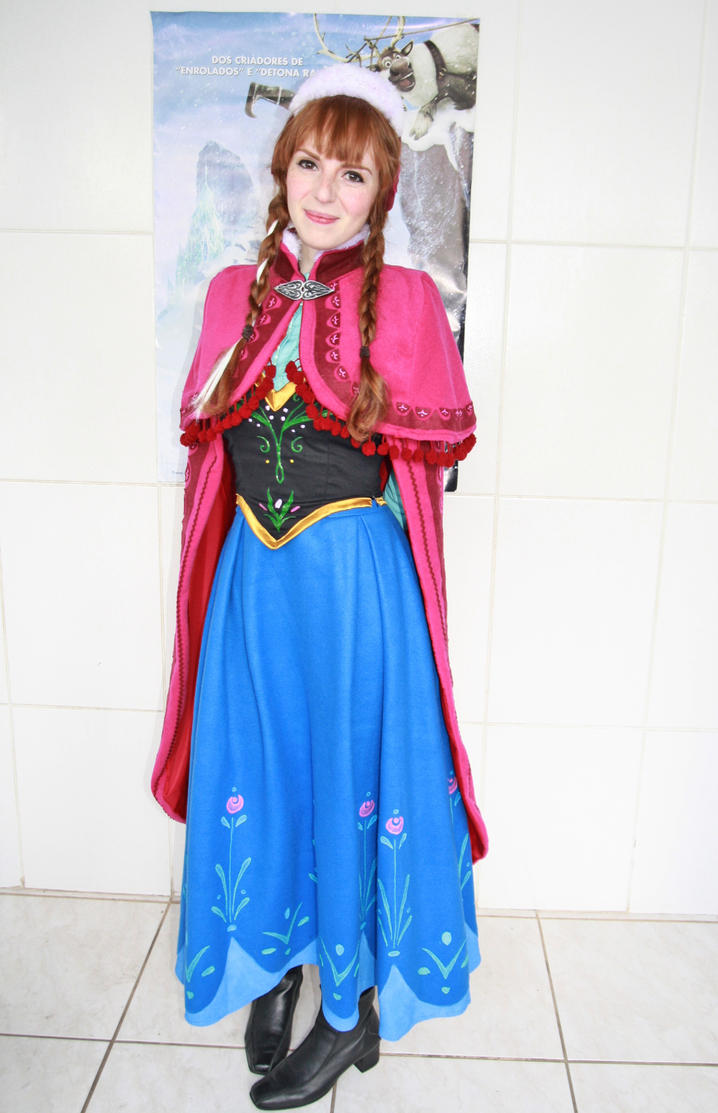 Anna's cosplay by winged-princess