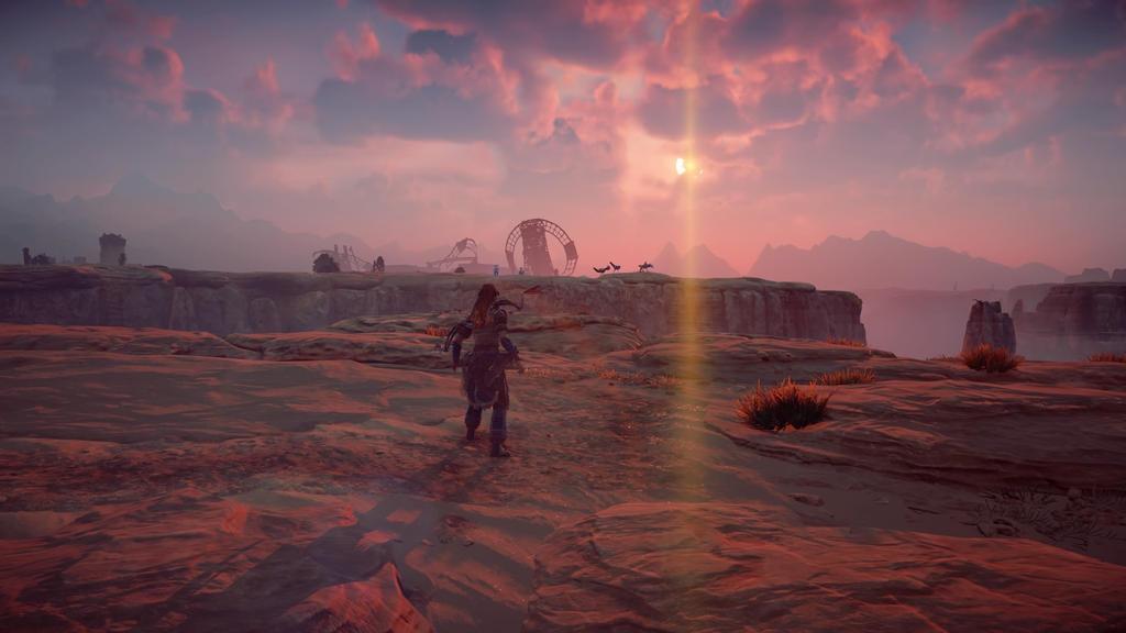 Horizon Zero Dawn Panorama by Striker365