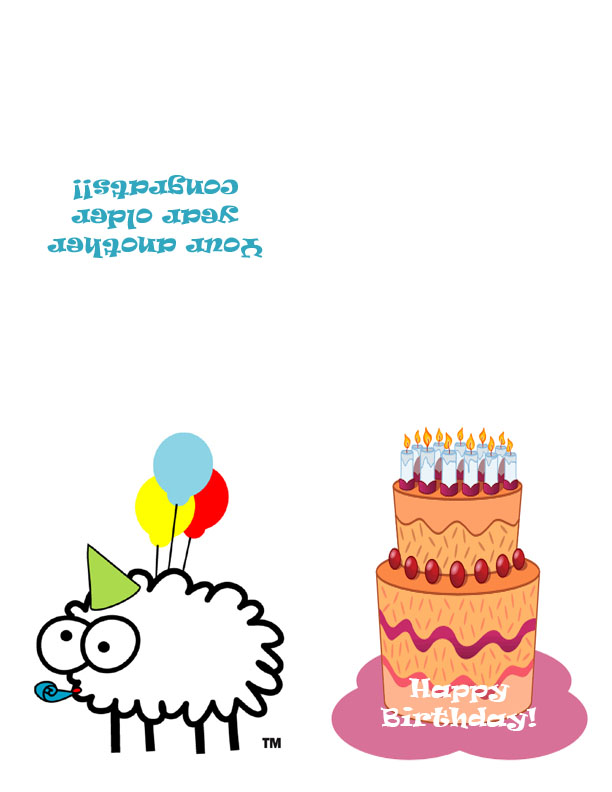 printable online birthday cards