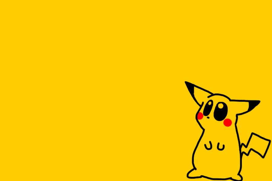 pikachu screensaver by littlegreenhat on deviantart