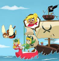 Sailing Away by LittleGreenHat