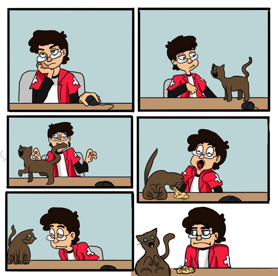 CATS by LittleGreenHat