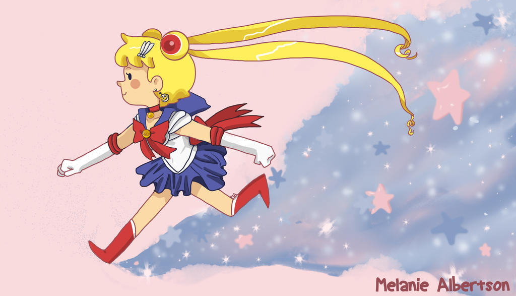 Sailor Moon in the Stars by LittleGreenHat