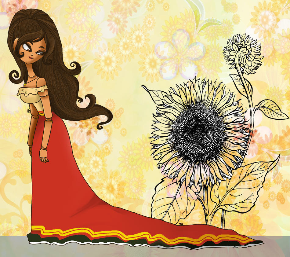 The Book of Life -  Maria by LittleGreenHat
