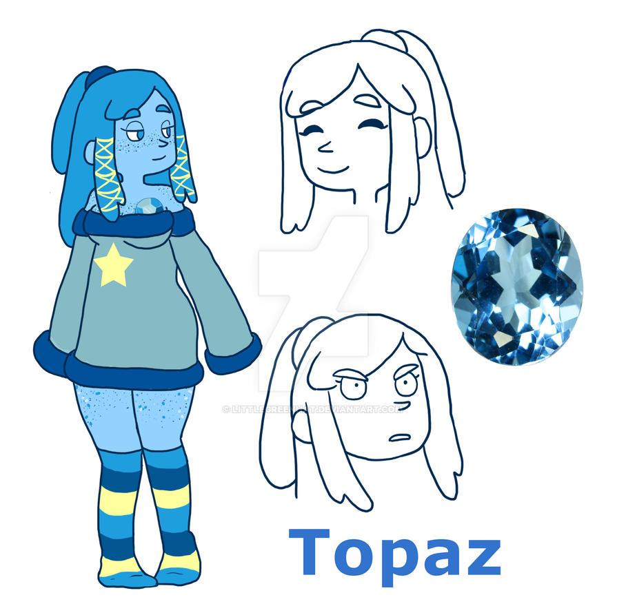 Gemsona Topaz by LittleGreenHat