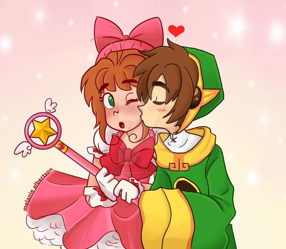 Kissy Babes by LittleGreenHat